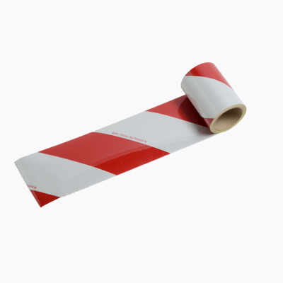 CHEVRONS BACS1 - Reflective white/red striping