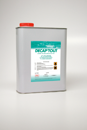Decaptout - Vinyl and adhesive removers