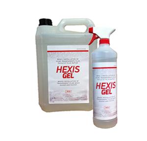 HEXISGEL - Verklebeflüssigkeit für transparente Folien