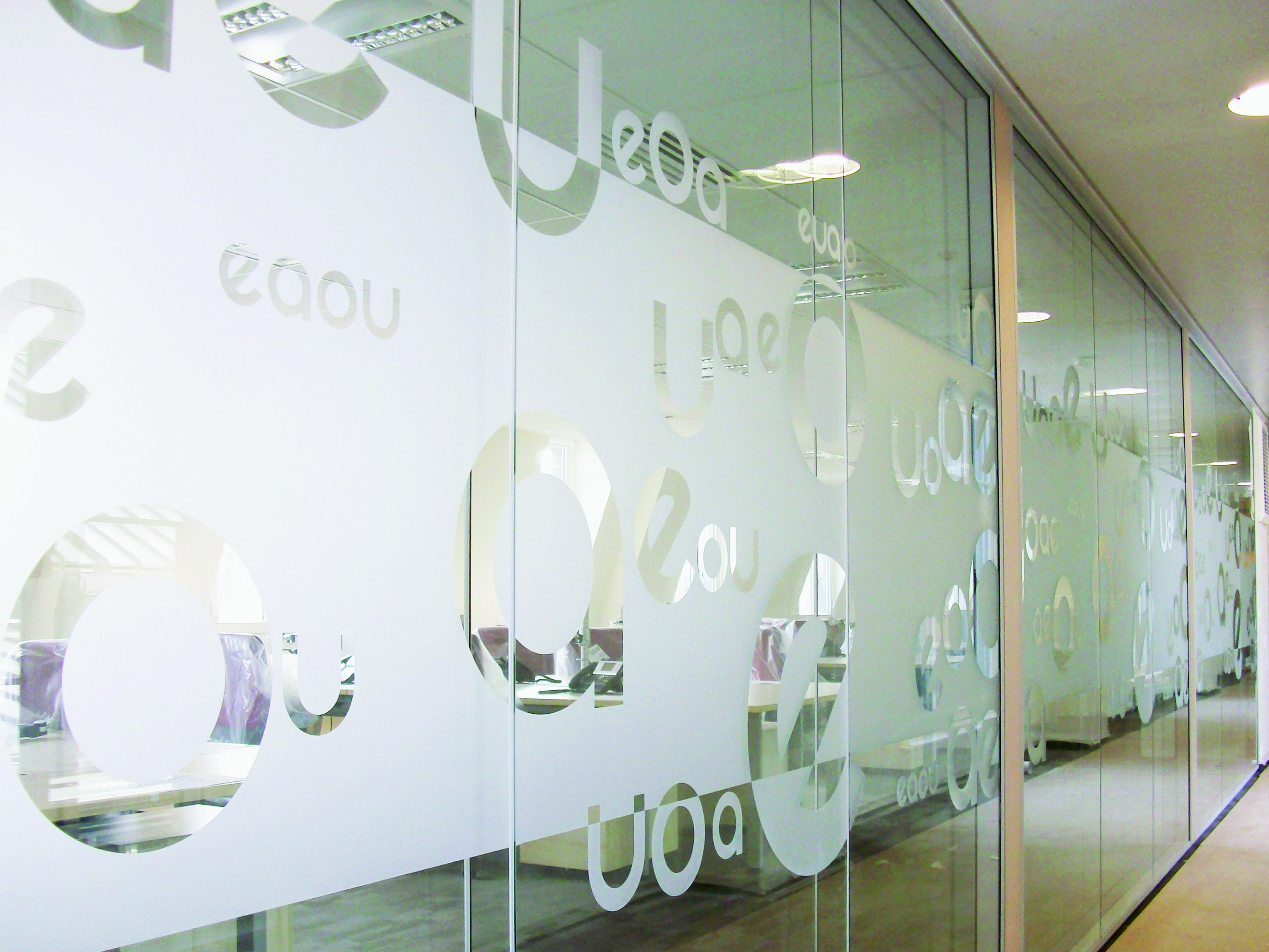 Hx5depm Classic Etched Glass Polymeric Calendered Film