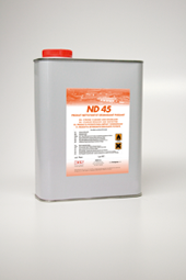 ND45 - Liquid for cleaning application surfaces