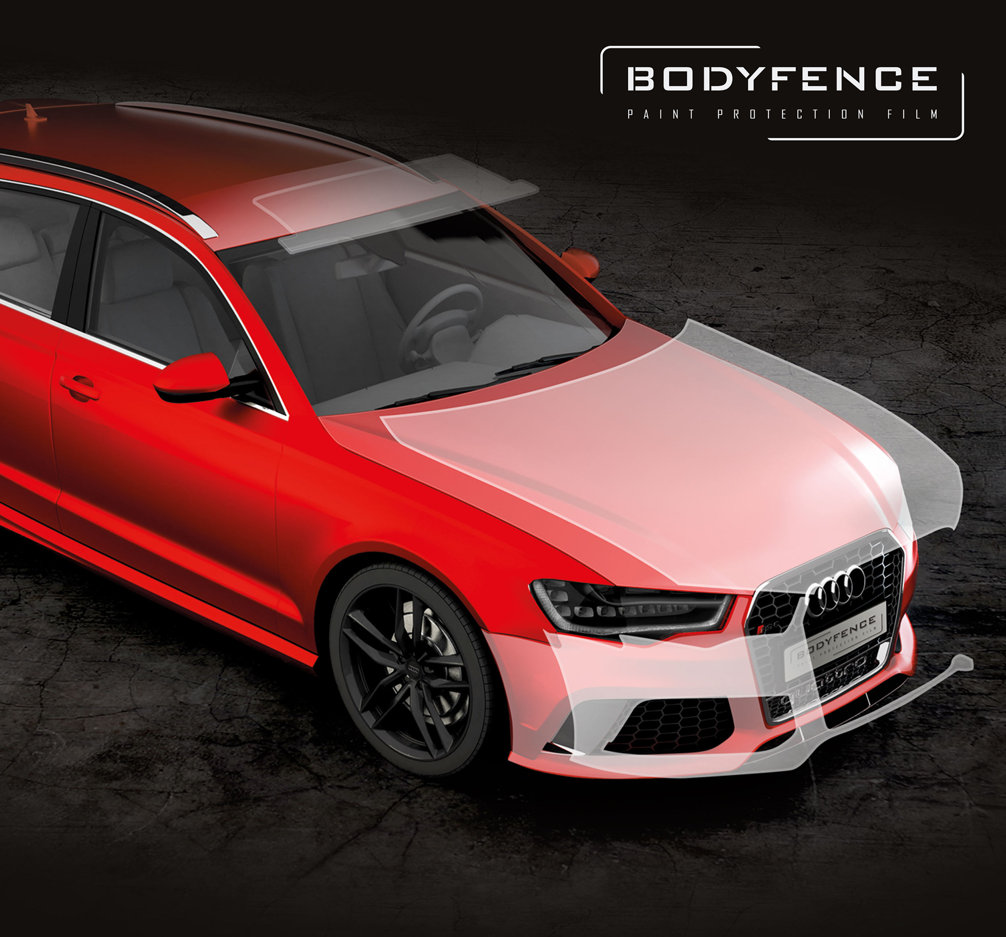 Bodyfencem Paint Protection Film Hexis Graphics