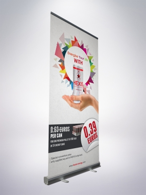 ROLLECO100 - Roll-up displays 100*200 cm