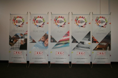 PREMIO - Self-supporting display  60*160cm