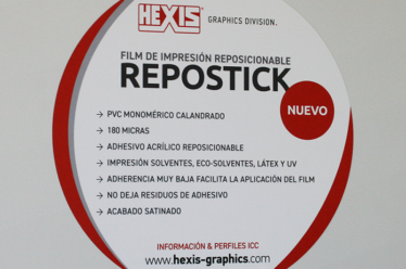 REPOSTICK, repositionable film