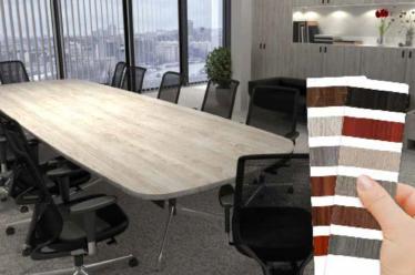 VWOOD e pattern legno HEXIS: la soluzione per l'interior decoration
