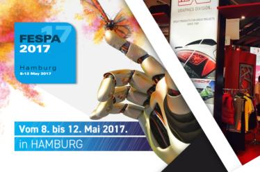 Besuchen Sie uns auf der FESPA Messe 2017!