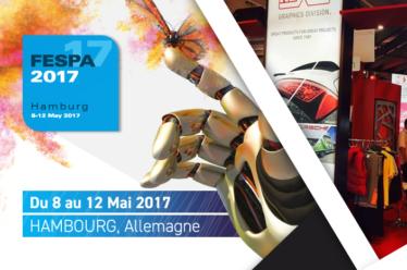 Venez nous rencontrer à l'occassion du FESPA 2017