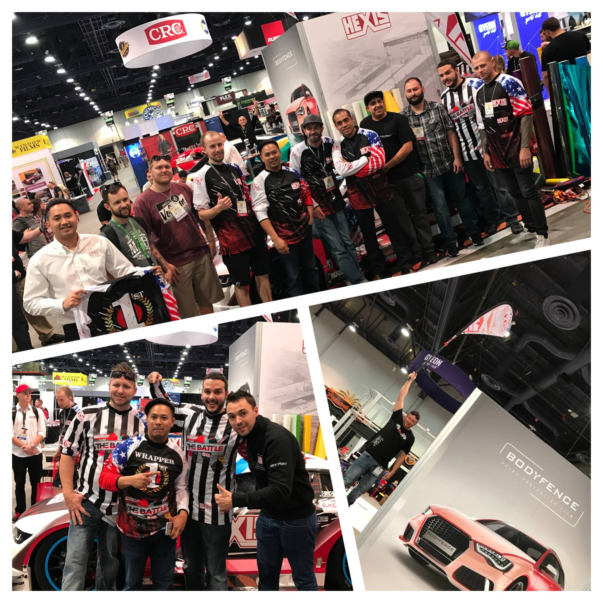 HEXIS at SEMA Show in Las Vegas! - HEXIS Graphics