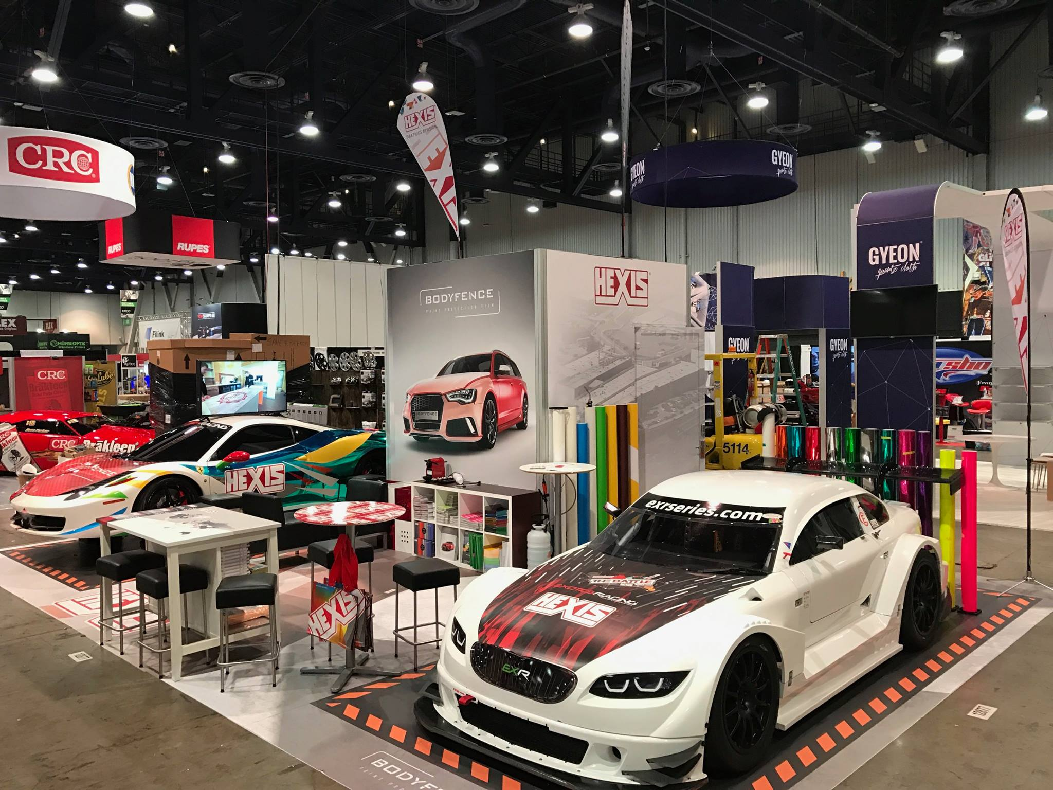 HEXIS At SEMA Show In Las Vegas HEXIS Graphics - Car show in vegas today