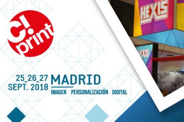 Ven a visitarnos a C!Print Madrid 2018
