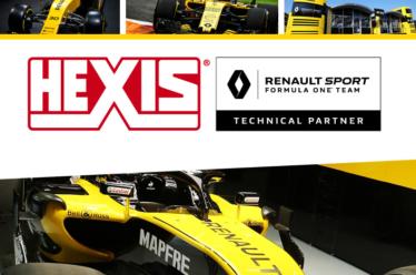 HEXIS partenaire du Renault Sport Formula One Team
