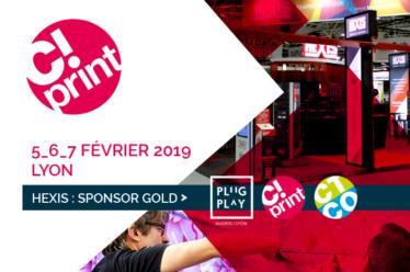 Venez nous rencontrer au salon C!Print de Lyon 2019