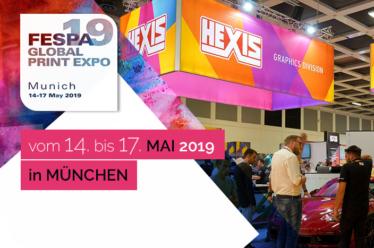 HEXIS, Partner der FESPA 2019 in München
