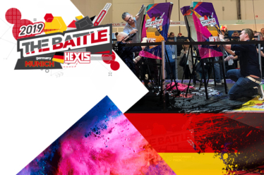 HEXIS battle at FESPA Global Print Expo 2019