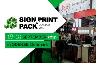 Sign, Print & Pack Denmark 18-19 september 2019