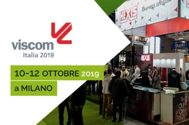HEXIS sarà presente alla fiera Viscom di Milano dal 10 al 12 ottore 2019
