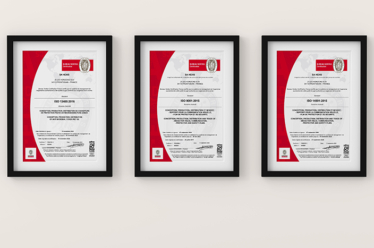 Threefold certification for HEXIS despite a challenging context linked to the health crisis