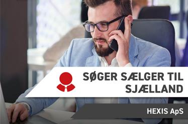 Hexis søger sælger til Sjælland